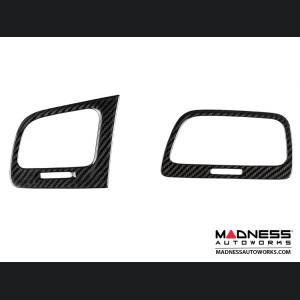 Volkswagen Golf VII - Interior Console Trim Kit by Feroce - Carbon Fiber