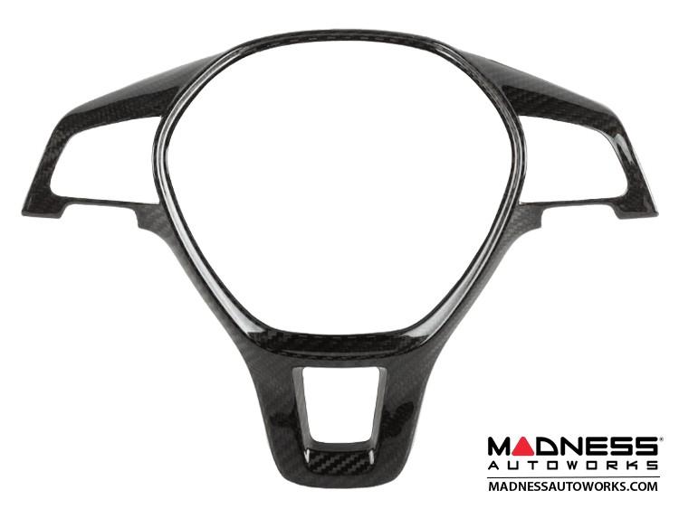 Volkswagen Golf (Mk7) - Steering Wheel Cover by Feroce - Carbon Fiber