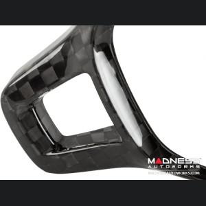 Volkswagen Golf (Mk7) - Steering Wheel Cover V2 by Feroce - Carbon Fiber - Blemished