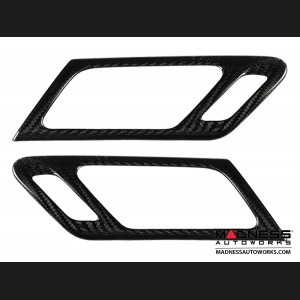 Volkswagen Golf VI (Mk6) - Interior Door Handle Trim by Feroce - Carbon Fiber
