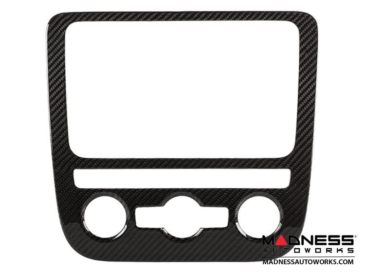 Volkswagen Golf V/ Scirocco/ Eos - Center Console Trim by Feroce - Carbon Fiber