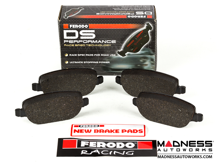 Alfa Romeo 4C Brake Pads - DS Performance by Ferodo - Rear