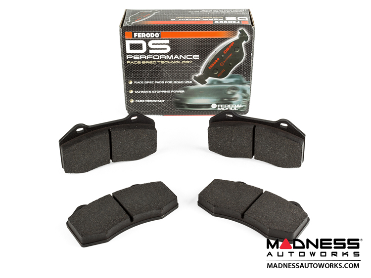 Alfa Romeo 4C Brake Pads - DS Performance by Ferodo - Front