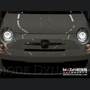 FIAT 500 HD LED Halos - Amber - Pair