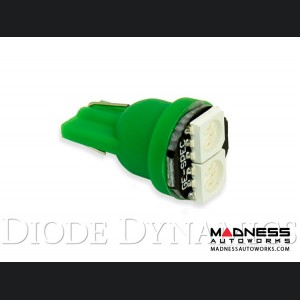 FIAT 500 Trunk LED 194 - SMD2 - Green - Single