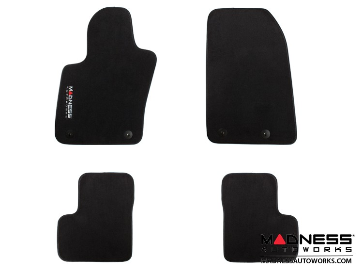 Jeep Renegade Floor Mats (set of 4) - Premium Carpet - by MADNESS
