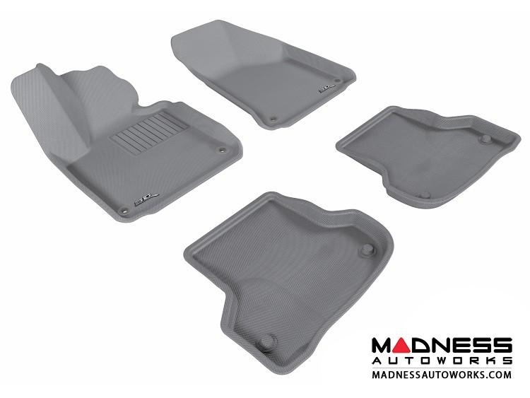 Audi A3 Floor Mats (Set of 4) - Gray by 3D MAXpider (2006-2013)