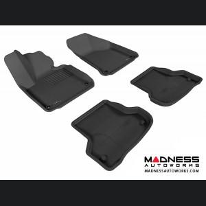 Audi A3 Floor Mats (Set of 4) - Black by 3D MAXpider (2006-2013)