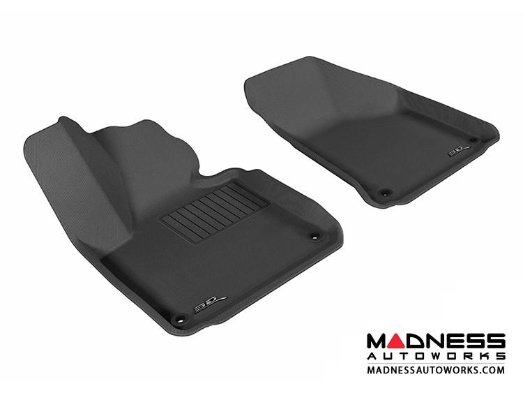 Audi A3 Floor Mats (Set of 2) - Front - Black by 3D MAXpider (2006-2013)