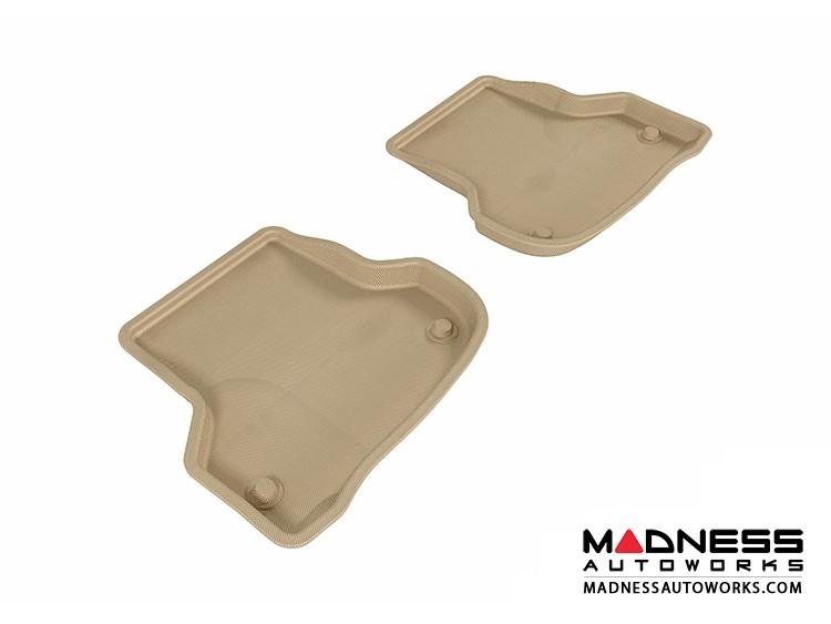 Audi A3 Floor Mats (Set of 2) - Rear - Tan by 3D MAXpider (2006-2013)