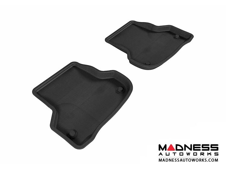 Audi A3 Floor Mats (Set of 2) - Rear - Black by 3D MAXpider (2006-2013)