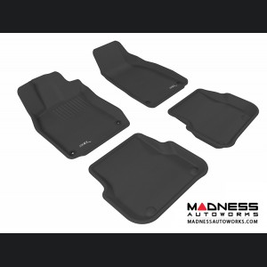 Audi A6/ S6/ RS6 Floor Mats (Set of 4) - Black by 3D MAXpider (2005-2011)