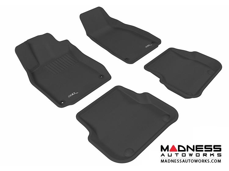 Audi A6/ S6/ RS6 Floor Mats (Set of 4) - Black by 3D MAXpider (2005-2011)