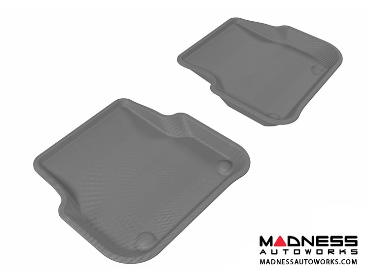 Audi A6/ S6/ RS6 Floor Mats (Set of 2) - Rear - Gray by 3D MAXpider (2005-2011)