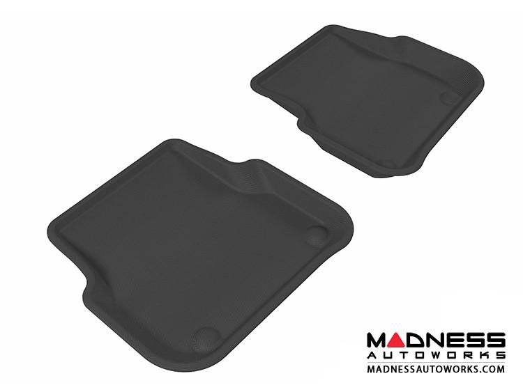 Audi A6/ S6/ RS6 Floor Mats (Set of 2) - Rear - Black by 3D MAXpider (2005-2011)