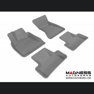 Audi Q5 Floor Mats (Set of 4) - Gray by 3D MAXpider (2009-2015)