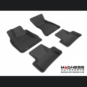 Audi Q5 Floor Mats (Set of 4) - Black by 3D MAXpider (2009-2015)