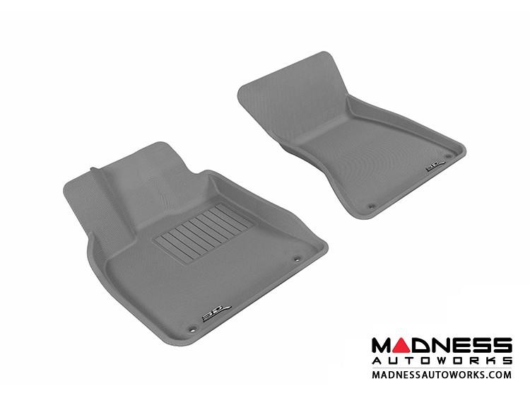 Audi Q5 Floor Mats (Set of 2) - Front - Gray by 3D MAXpider (2009-2015)
