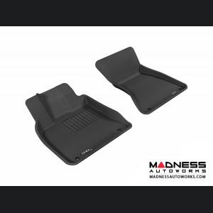Audi Q5 Floor Mats (Set of 2) - Front - Black by 3D MAXpider (2009-2015)