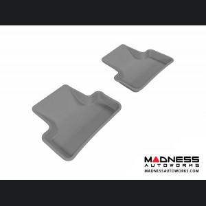 Audi Q5 Floor Mats (Set of 2) - Rear - Gray by 3D MAXpider (2009-2015)