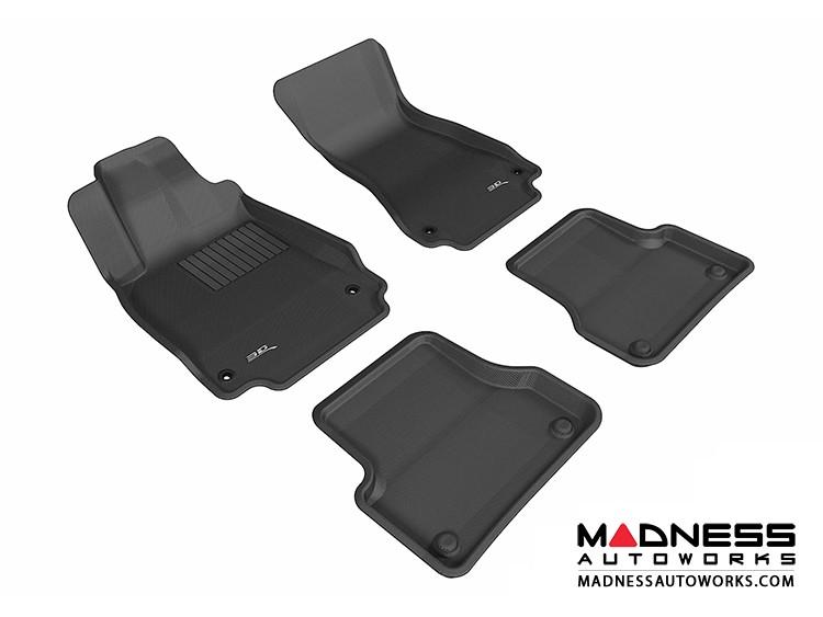 Audi A6/ S6 Floor Mats (Set of 4) - Black by 3D MAXpider (2012-)