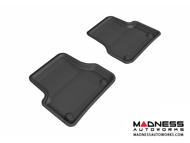 Audi A6/ S6/ A7 Floor Mats (Set of 2) - Rear - Black by 3D MAXpider (2012-)