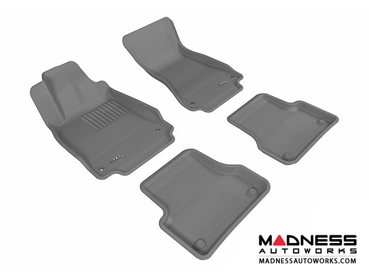 Audi A7 Floor Mats (Set of 4) - Gray by 3D MAXpider (2012-)