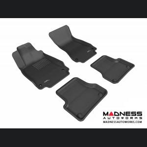 Audi A7 Floor Mats (Set of 4) - Black by 3D MAXpider (2012-)