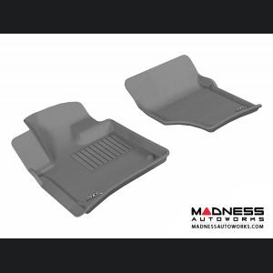 Audi Q7 Floor Mats (Set of 2) - Front - Gray by 3D MAXpider (2007-2015)