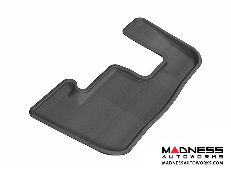 Audi Q7 Floor Mat - 3rd Row - Black by 3D MAXpider (2007-2015)