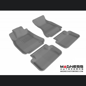 Audi A4/ S4/ RS4 Floor Mats (Set of 4) - Gray by 3D MAXpider (2009-2015)