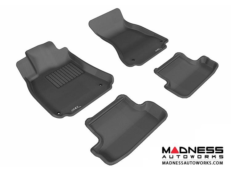 Audi A5/ S5 Floor Mats (Set of 4) - Black by 3D MAXpider (2009-2015)