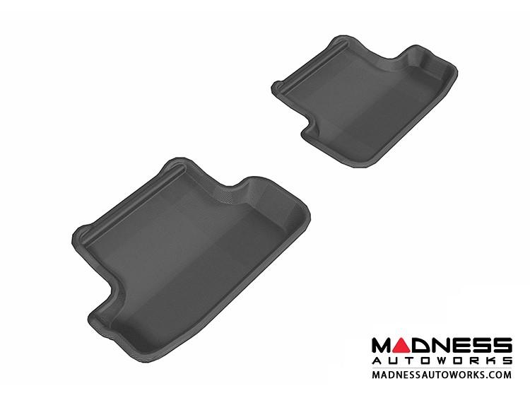Audi A5/ S5 Floor Mats (Set of 2) - Rear - Black by 3D MAXpider (2009-2015)