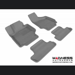 Audi TT/ TTS Floor Mats (Set of 4) - Gray by 3D MAXpider (2008-2015)