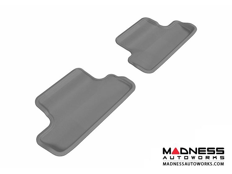 Audi TT/ TTS Floor Mats (Set of 2) - Rear - Gray by 3D MAXpider (2008-2015)