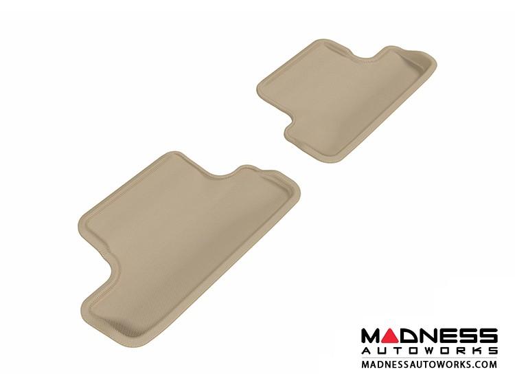 Audi TT/ TTS Floor Mats (Set of 2) - Rear - Tan by 3D MAXpider (2008-2015)