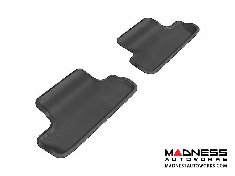 Audi TT/ TTS Floor Mats (Set of 2) - Rear - Black by 3D MAXpider (2008-2015)