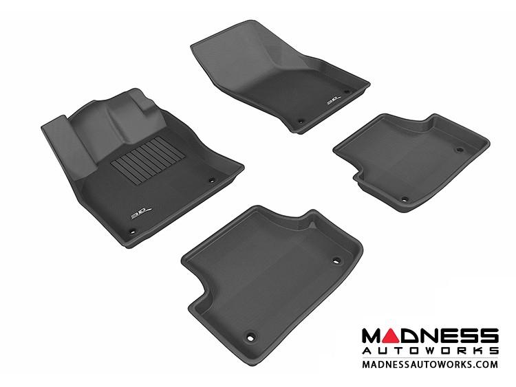 Audi A3/ S3 Floor Mats (Set of 4) - Black by 3D MAXpider (2015-)