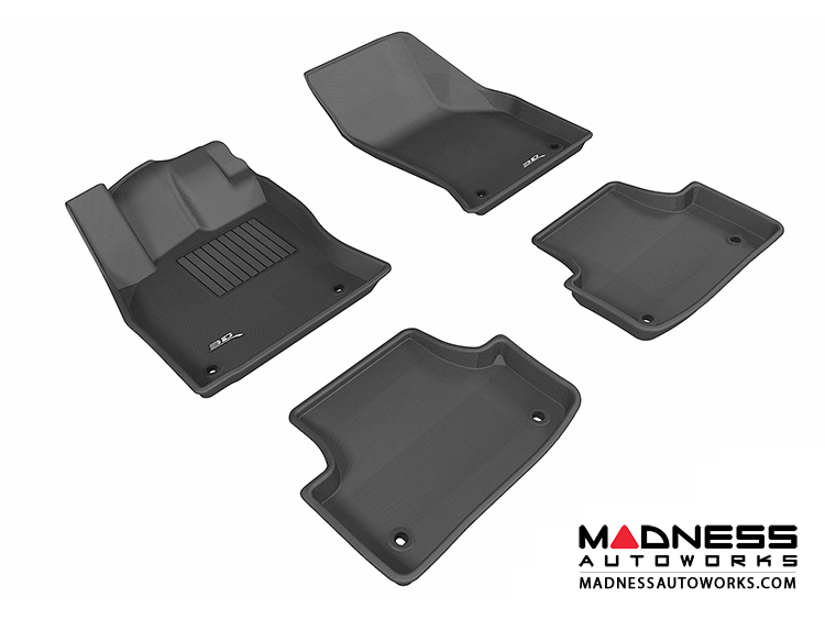 Data Center Floor Mats : Audi a s floor mats set of black by d