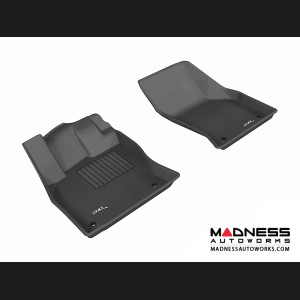 Audi A3/ S3 Floor Mats (Set of 2) - Front - Black by 3D MAXpider (2015-)