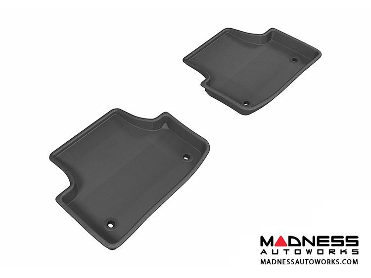 Audi A3/ S3 Floor Mats (Set of 2) - Rear - Black by 3D MAXpider (2015-)