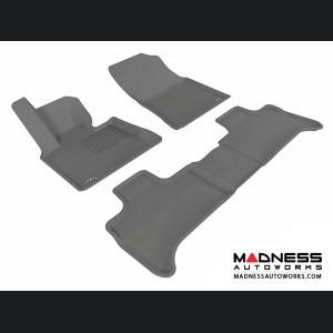 BMW X5 (E53) Floor Mats (Set of 3) - Gray by 3D MAXpider