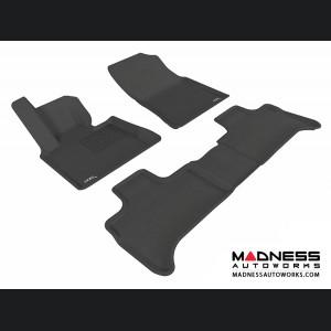 BMW X5 (E53) Floor Mats (Set of 3) - Black by 3D MAXpider