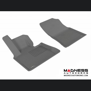 BMW X5 (E53) Floor Mats (Set of 2) - Front - Gray by 3D MAXpider