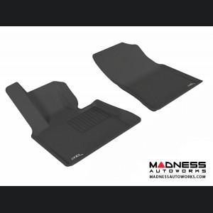 BMW X5 (E53) Floor Mats (Set of 2) - Front - Black by 3D MAXpider