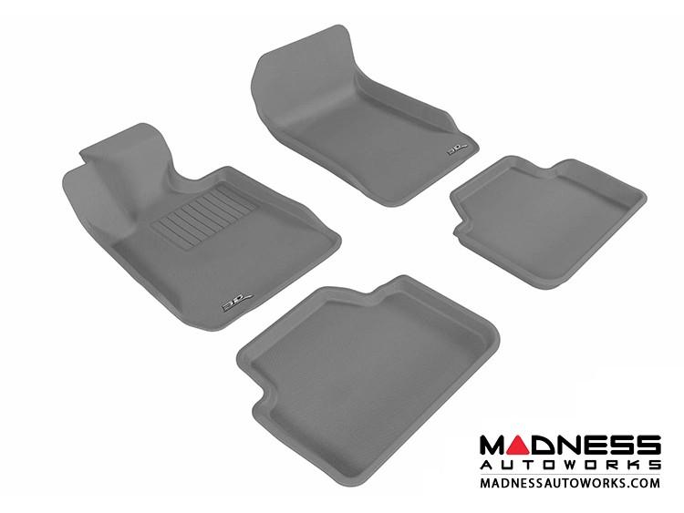 BMW 3 Series Sedan (E90) Floor Mats (Set of 4) - Gray by 3D MAXpider