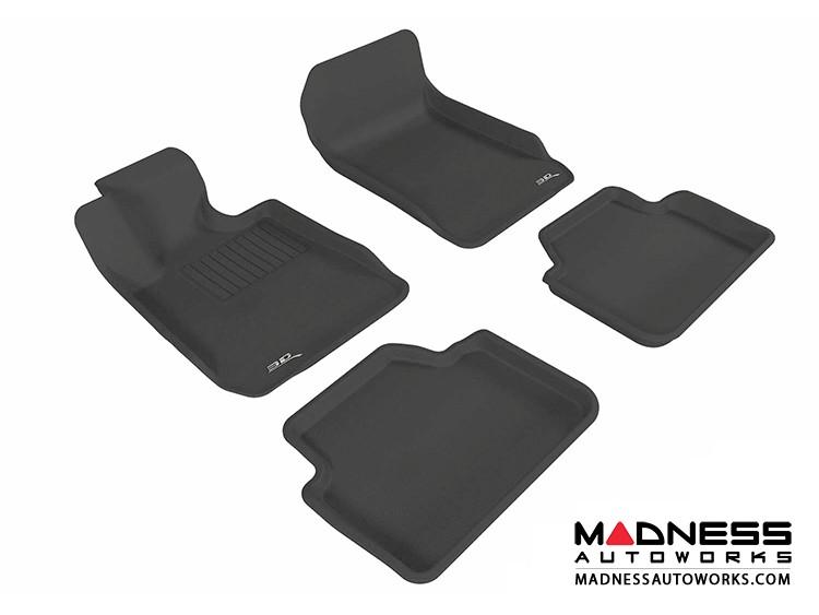 BMW 3 Series Sedan (E90) Floor Mats (Set of 4) - Black by 3D MAXpider