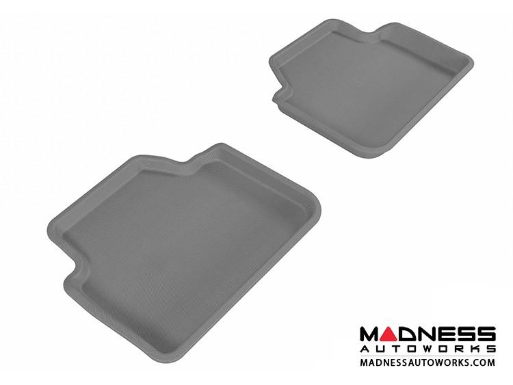BMW 3 Series Sedan (E90)/ X3 (E83) Floor Mats (Set of 2) - Rear - Gray by 3D MAXpider