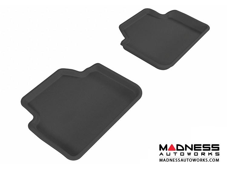BMW 3 Series Sedan (E90)/ X3 (E83) Floor Mats (Set of 2) - Rear - Black by 3D MAXpider