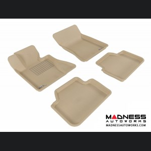 BMW X3 (E83) Floor Mats (Set of 4) - Tan by 3D MAXpider